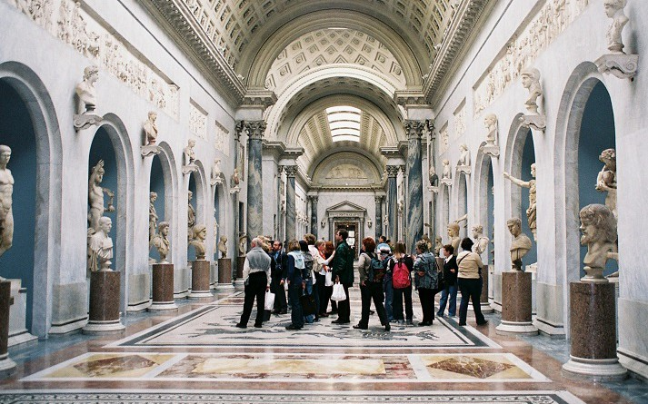 The beautiful Vatican Museums