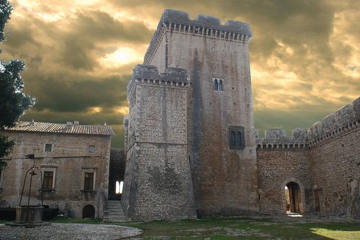 Il Castello Caetani a Sermoneta